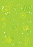 Background_abstract_green Royalty Free Stock Images