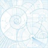 Backgroundb tecnico Immagine Stock