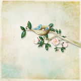 Backgroundb Textured com ilustração Imagem de Stock Royalty Free