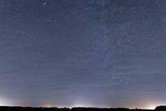 BackgroundConstellations Cassiopeia, Andromeda, Cepheus κόσμου, Στοκ εικόνα με δικαίωμα ελεύθερης χρήσης