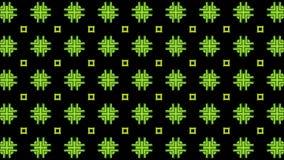 Backgroundd verde e escuro do teste padrão ilustração stock