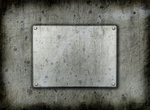 Backgrounddd del metal de Grunge Fotos de archivo libres de regalías