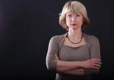 backgrounde μαύρος ξανθός Στοκ εικόνα με δικαίωμα ελεύθερης χρήσης
