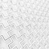 backgroundind的样式加号 免版税库存图片