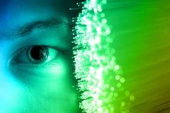 Backgroundnd di tecnologia di alta tecnologia Fotografia Stock Libera da Diritti