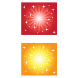 Backgrounds. Abstract two different colored backgrounds Royalty Free Stock Images