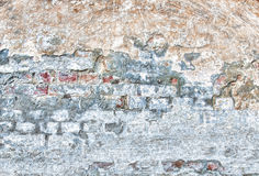 Backgrounds. An old worn out wall Stock Photos