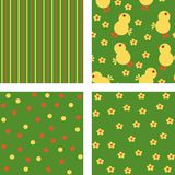 Backgrounds. Easter backgrounds for scrap and for design Stock Images