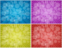 Backgrounds. Illustration of light abstract backgrounds Royalty Free Stock Image