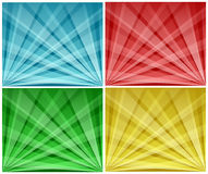Backgrounds. Illustration of shiny backgrounds with lights beam Royalty Free Stock Images