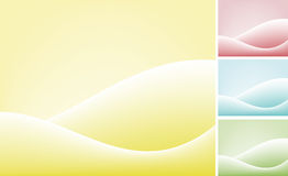 Backgrounds. Set of four color backgrounds Royalty Free Stock Images