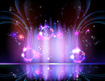 Backgrounds abstract astral. Backgrounds abstract art color astral royalty free illustration