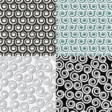Backgrounds with abstract curls Royalty Free Stock Photography