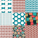 Backgrounds with abstract elements Stock Photography