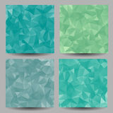 Backgrounds with abstract triangles Royalty Free Stock Image
