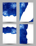 Backgrounds with abstract triangles Royalty Free Stock Photography