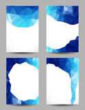 Backgrounds with abstract triangles Stock Image