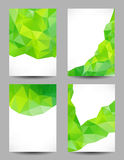 Backgrounds with abstract triangles Stock Photo