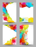 Backgrounds with abstract triangles Royalty Free Stock Photo