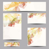Backgrounds with abstract triangles Royalty Free Stock Photos