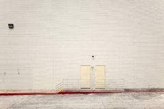 Backgrounds - blank urban wall Royalty Free Stock Images