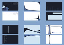 Backgrounds for business cards Royalty Free Stock Image