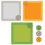Backgrounds with buttons Royalty Free Stock Photos