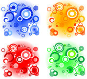 Backgrounds circles Royalty Free Stock Photos