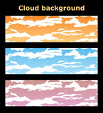 Backgrounds clouds Stock Photography