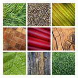 Backgrounds collage Royalty Free Stock Photo