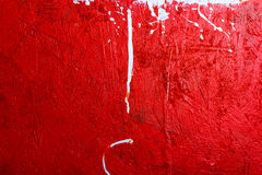 Backgrounds collection - Blots and stains of paint. Backgrounds collection - Blots and smudges of paint on the painted wooden wall Stock Photo