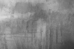 Backgrounds collection - Grey plaster wall Stock Photography