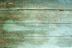 Backgrounds collection - The old paint on boards Stock Photography