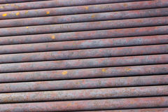 Backgrounds collection - Texture of rusty pipes Royalty Free Stock Photography