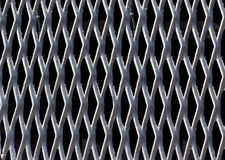 Backgrounds collection - Texture steel grating Royalty Free Stock Images