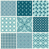 Backgrounds Collection - Vintage Tile. Seamless backgrounds Collection - Vintage Tile - for design and scrapbook - in vector stock illustration