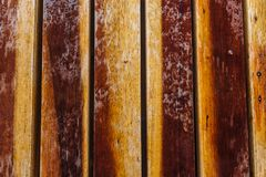 Backgrounds and concept of texture - wooden floor or wall. Wooden board royalty free stock photo