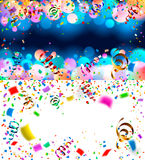 Backgrounds with confetti Stock Image