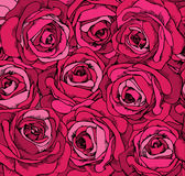 Backgrounds consisting of beautiful roses. Vector Royalty Free Illustration