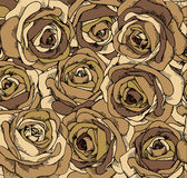 Backgrounds consisting of beautiful roses. Vector Vector Illustration