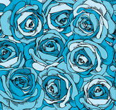 Backgrounds consisting of beautiful roses. Vector Stock Images