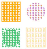 Backgrounds and decor with daisies Stock Photos