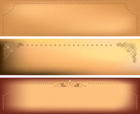 backgrounds with decorative frames - vector Royalty Free Stock Photography
