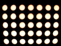 Backgrounds egg like dots, circles and ovals Royalty Free Stock Images