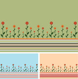 backgrounds flowers lines Στοκ Εικόνες