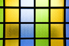 Backgrounds of glass wall Stock Photography