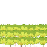 Backgrounds Of Grass. Green bushes. Isolated On White Background. Vector Illustration. Cartoon design elements for garden. Eps 8 Royalty Free Stock Photos