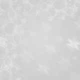 Backgrounds on gray. Snow  Stars New Year and Christmas Backgrounds Stock Photography