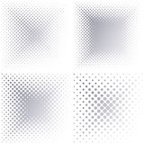 Backgrounds with halftone effect Royalty Free Stock Photography