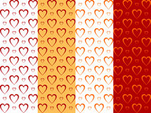 Backgrounds with hearts Stock Photo